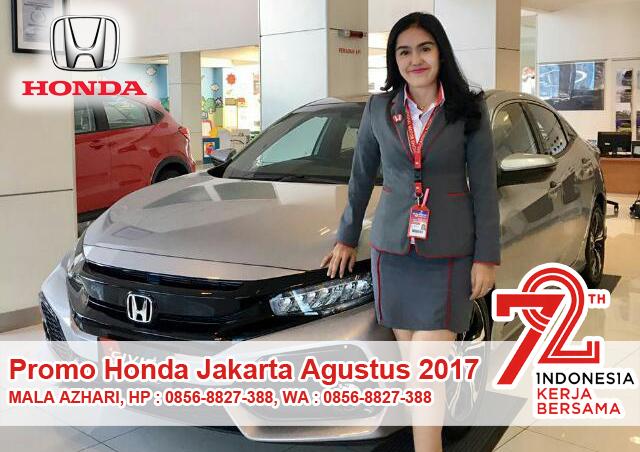 Promo Kredit Mobil Honda Edisi Agustus 2017